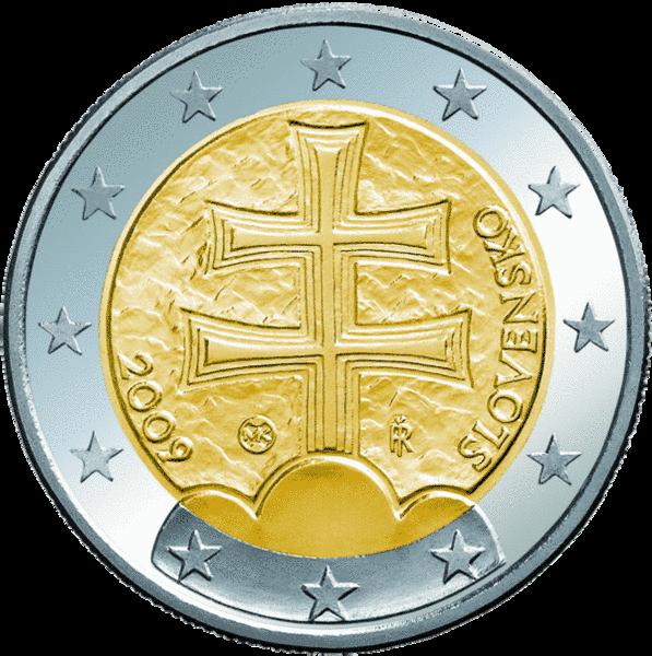 Euromünzen Aus Der Slowakei Euro Anwaerterde